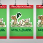 Plakát Kvak a Žbluňk