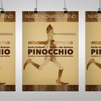 Plakát pro Národní divadlo Brno – Pinocchio