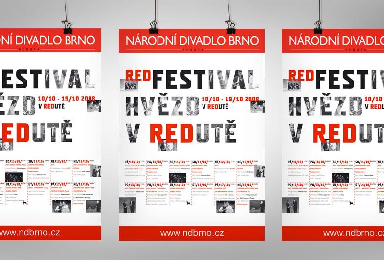 REDFEST plakát