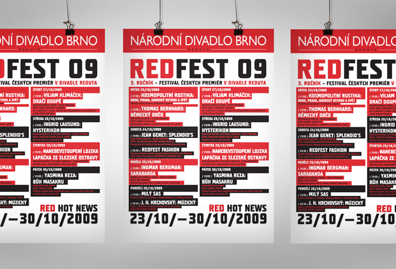 Reduta REDFEST plakát