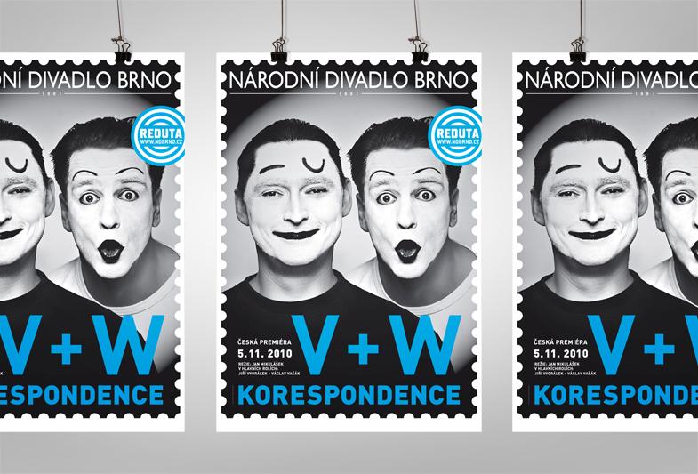 Korespondence V+W – Plakat