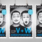 V+W Korespondence – plakat