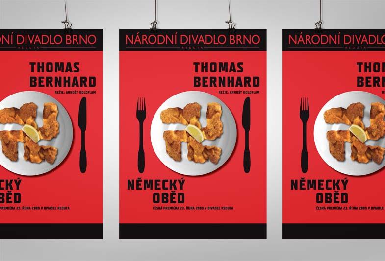 Plakát – Německý oběd