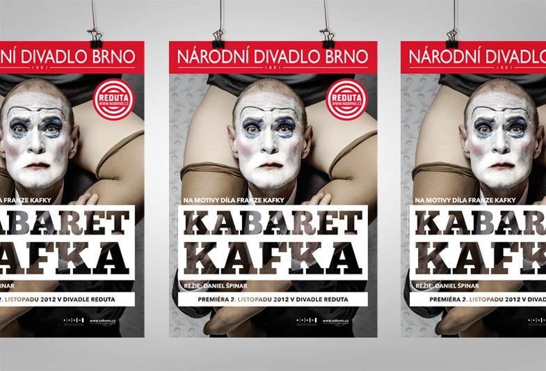 Plakát – Kabaret Kafka