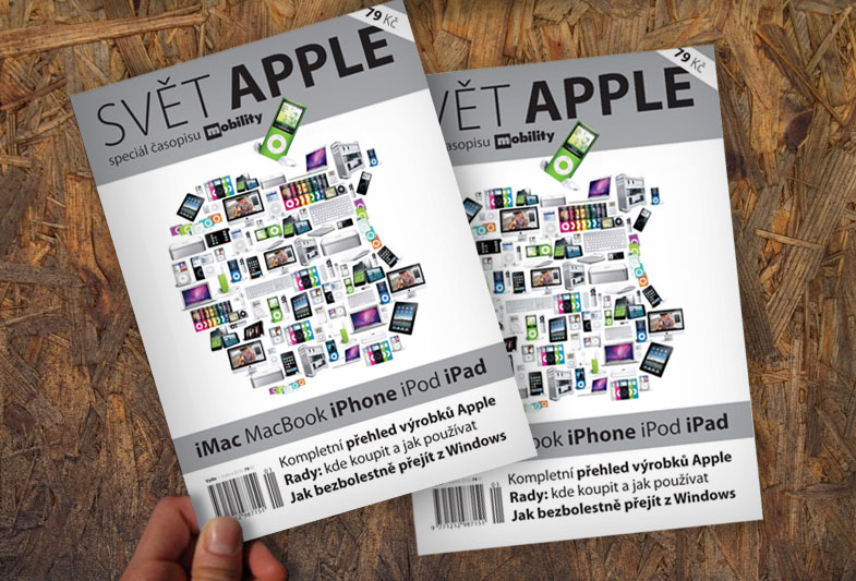 Obálka časopisu Svět Apple