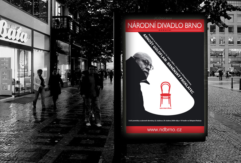 Billboard pro Národní divadlo Brno
