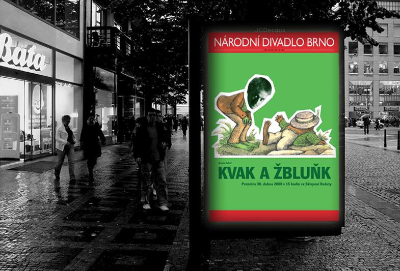 Billboard Kvak a Žbluňk