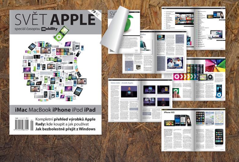 Design časopisu Svět Apple