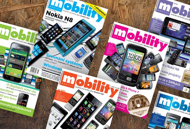 Obálka časopisu Mobility