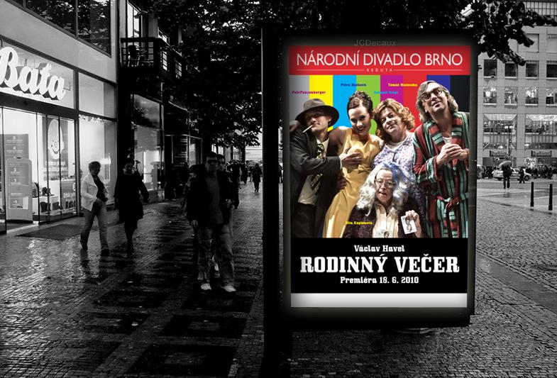 Billboard – Národní divadlo Brno – Rodinný večer