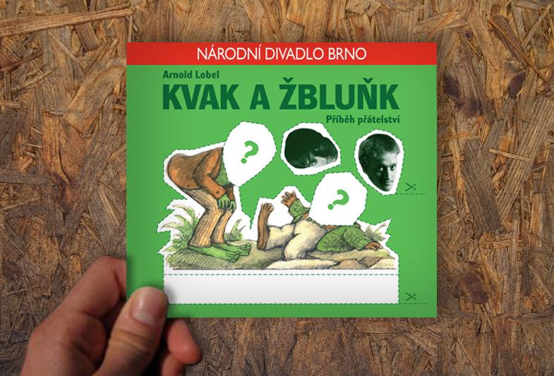 Leták Kvak a Žbluňk