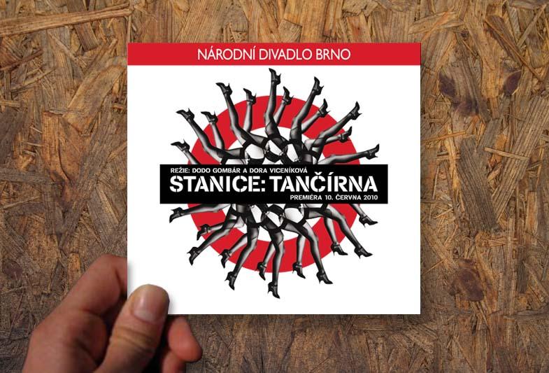 stanice tančírna – Grafický návrh katalogu