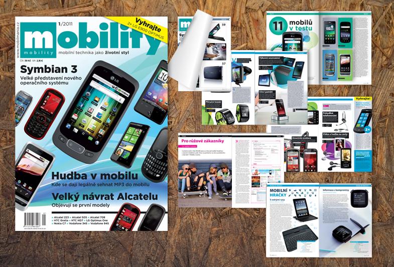 Design časopisu Mobility