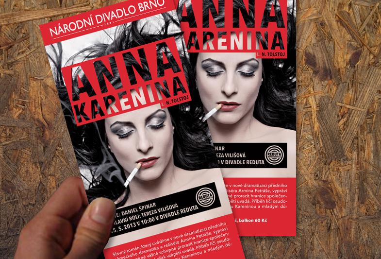Leták – Anna Karenina