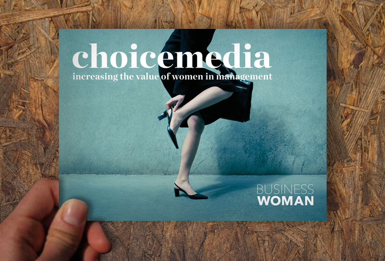Vizuální styl vydavatelství Choicemedia