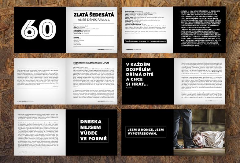 Design catalogue – Zlatá šedesátá