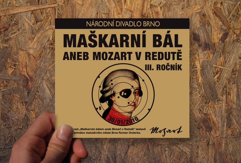Katalog pro Národní divadlo Brno – Maškarní bál