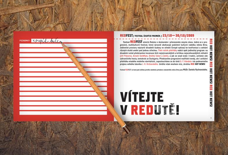 REDFEST brožura