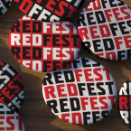 REDFEST placka