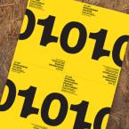 Plakát k 10. výročí Ateliéru grafického designu a multimédií