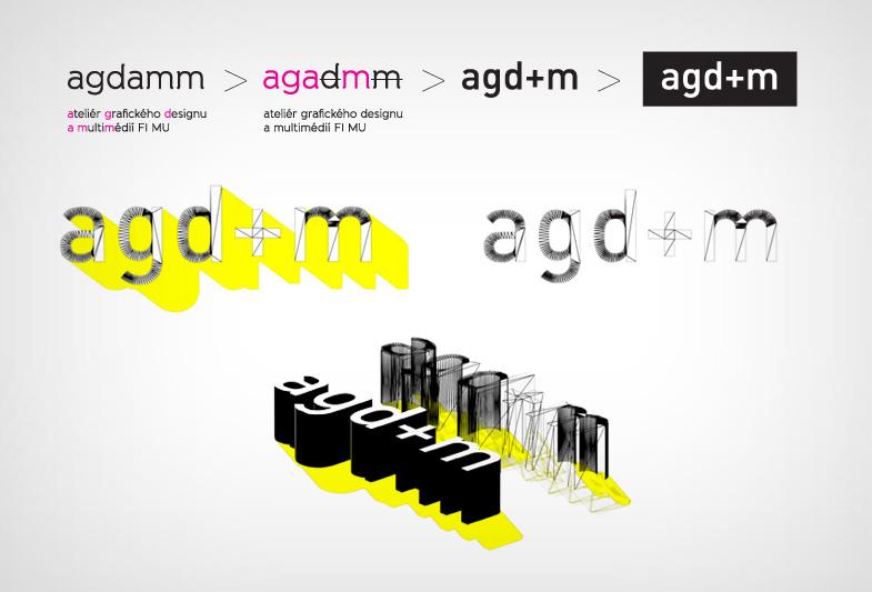 Logo Ateliéru grafického designu a multimédií FI MU