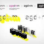 Logotyp Ateliéru grafického designu a multimédií FI MU