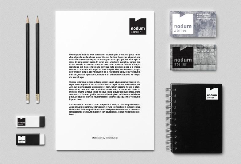 Nodum atelier – vizuální identita